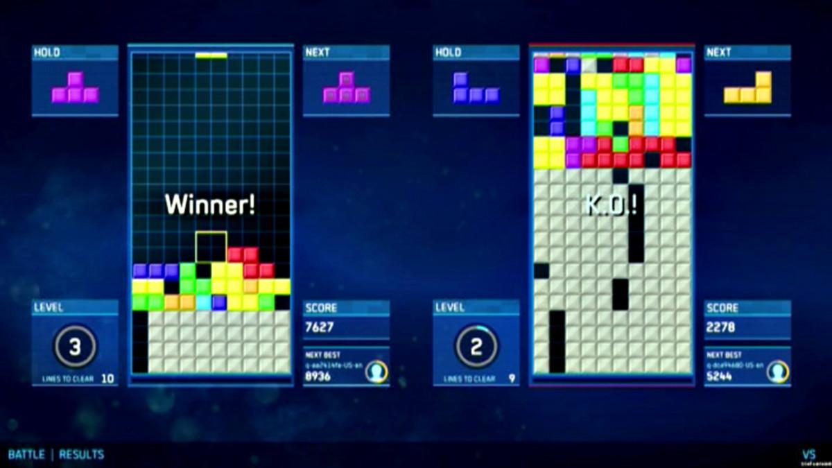 Tetris-peli.