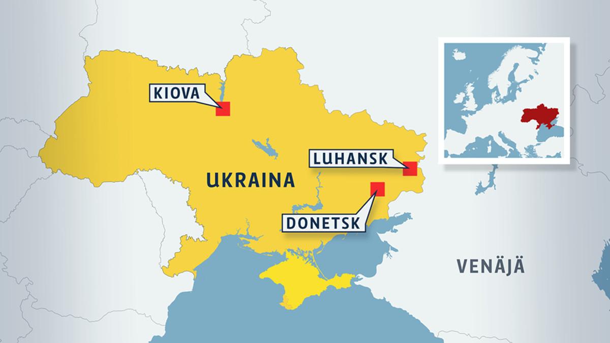 Asiantuntija Ukrainan Kriisista Donetskin Valloittaminen