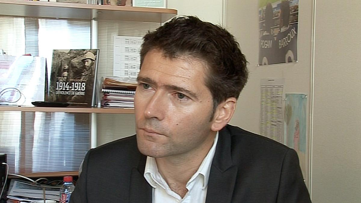 Les Échos -talouslehden päätoimittaja Pascal Pogam.
