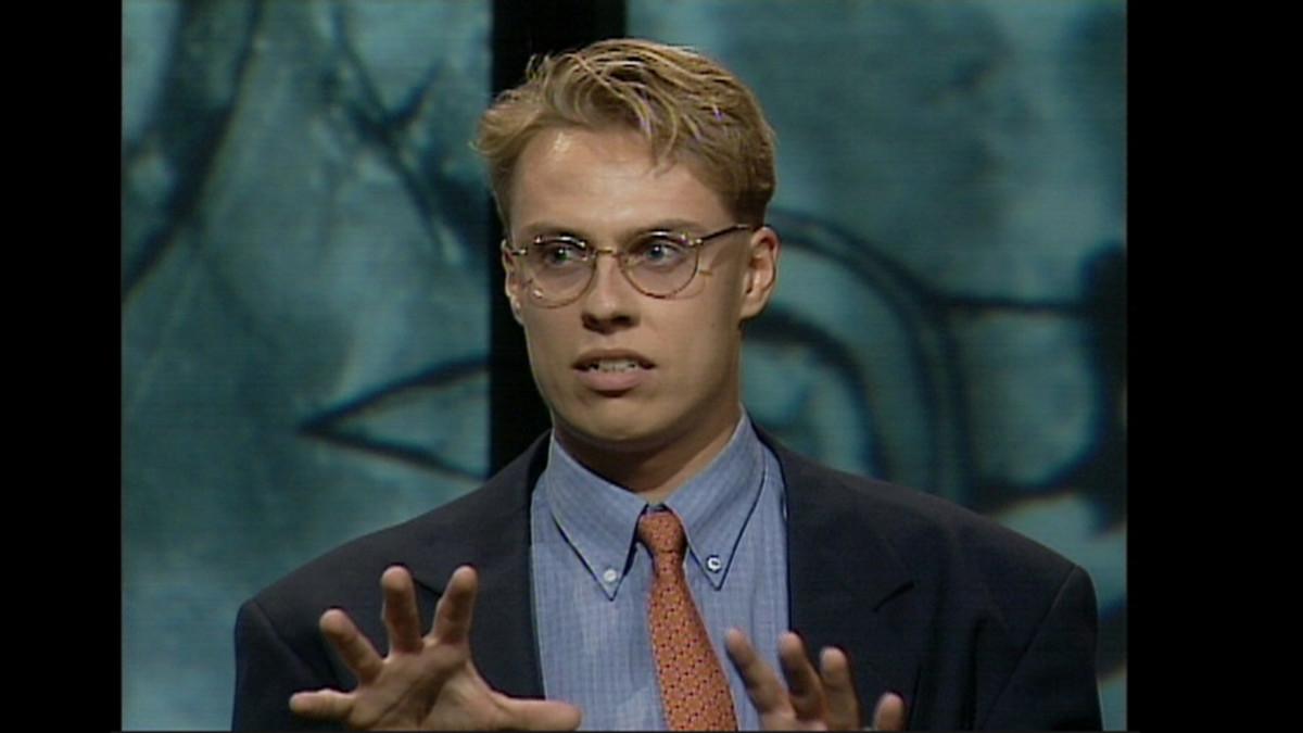 Alexander Stubb vuonna 1994.
