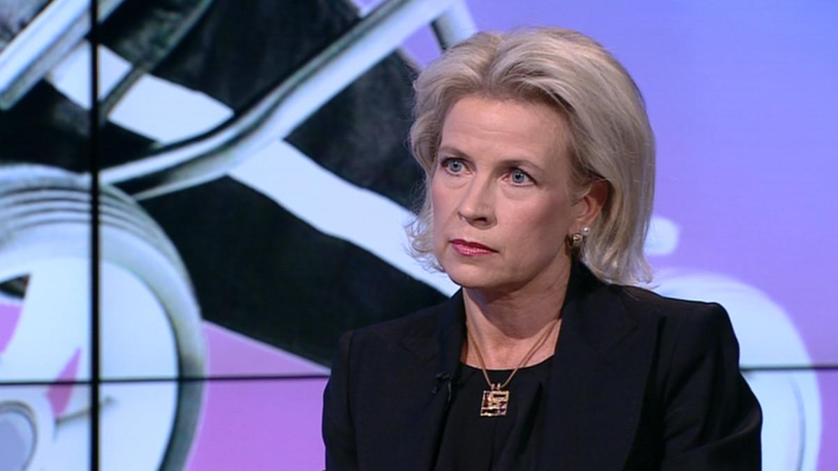 Espoon kokoomuksen valtuustoryhmän puheenjohtaja ja kansanedustaja Pia Kauma.