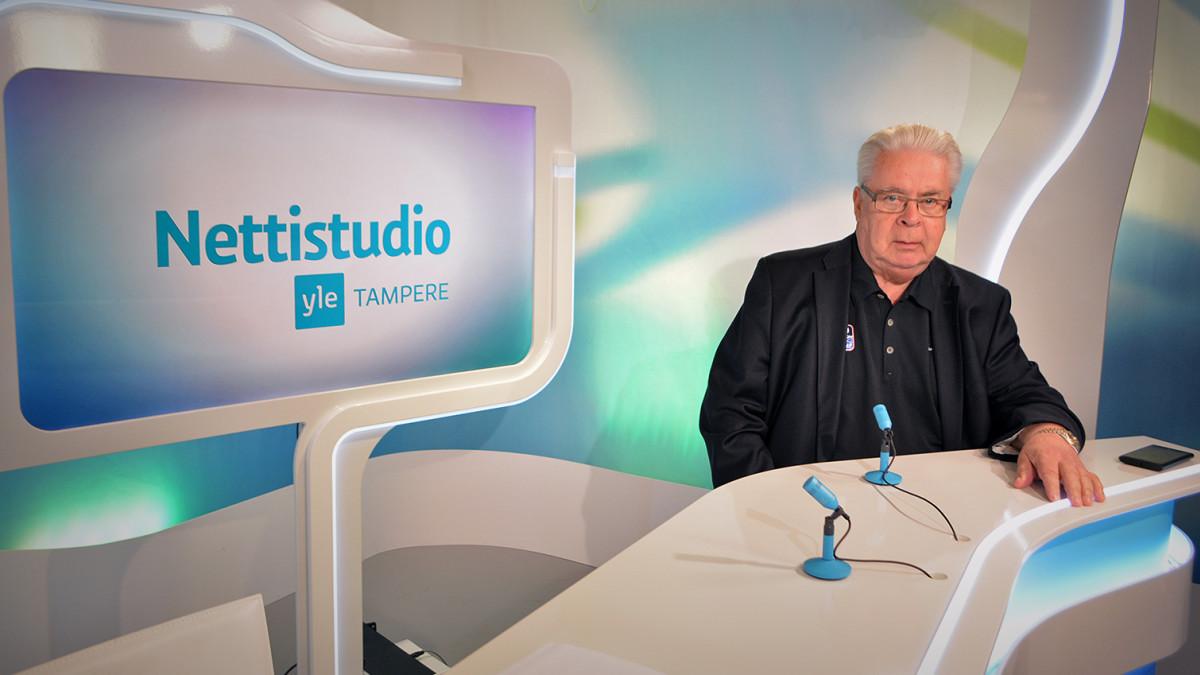 Kalervo Kummola Yle Tampereen Nettistudion vieraana