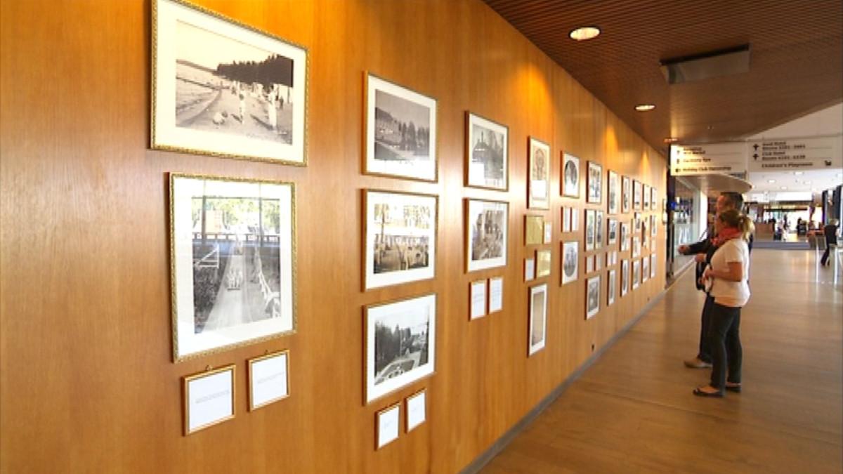 Näyttely Holiday Club Saimaa Rauha historia