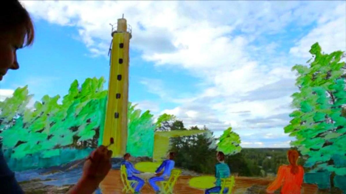 Tiede, taide ja teknologia asuinalueen kehittämisessä -hanke. Kuva esittelyvideosta.