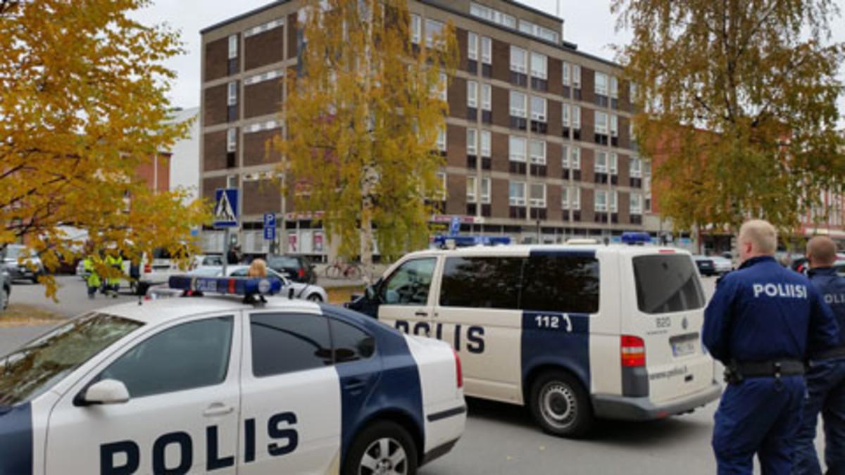 Vankikarkuria etsittiin Oulussa 7.10.2014