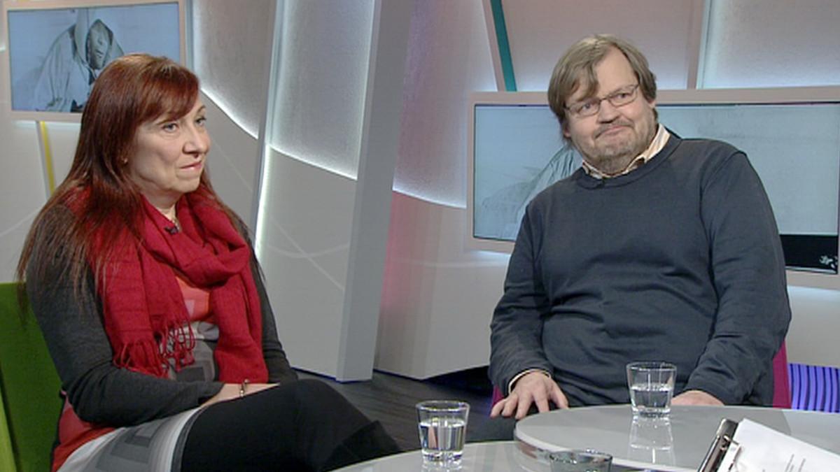 Sari Halavaara ja Juha-Pekka Lehtonen