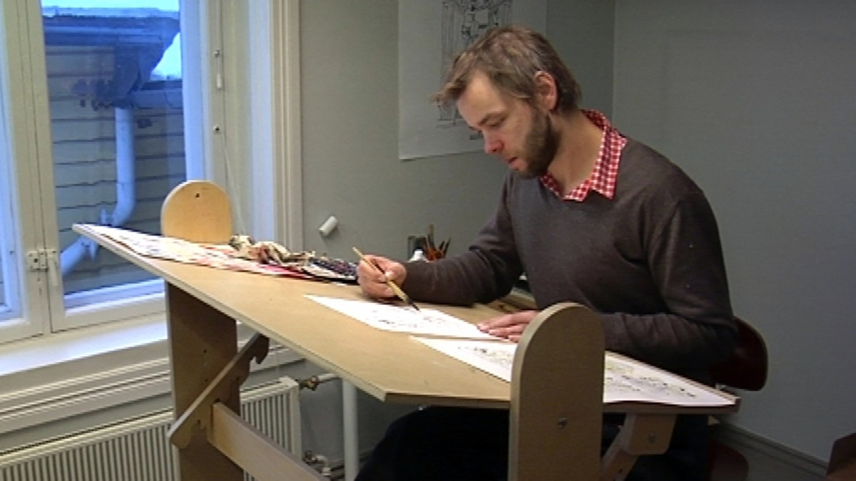 Pilapiirtäjä Ville Ranta sanoo, että hän ei ole saanut hetkeksikään mielestään Charlie Hebdo -lehteä vastaan tehtyä iskua.