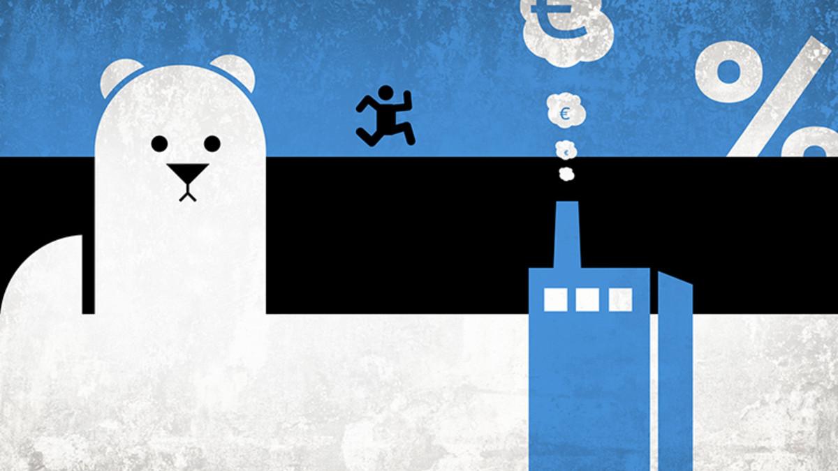 viron verotuksesta kertovan animaatioklipin lähtökuva