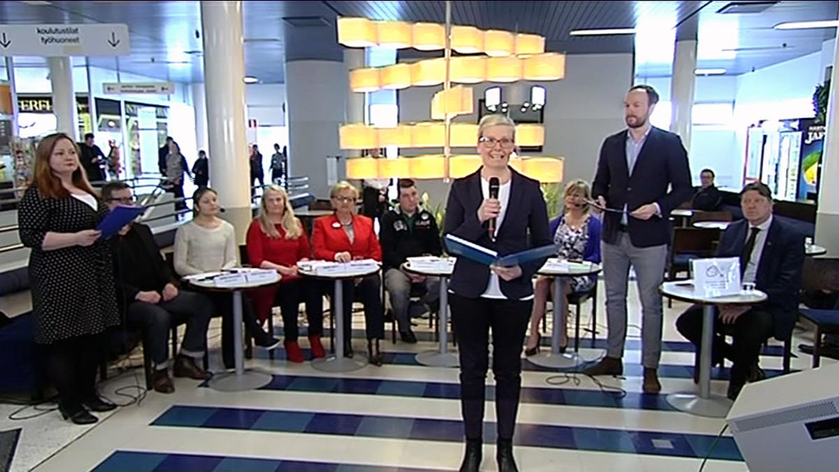 Yle Tampereen vaalikeskustelu Taysilta