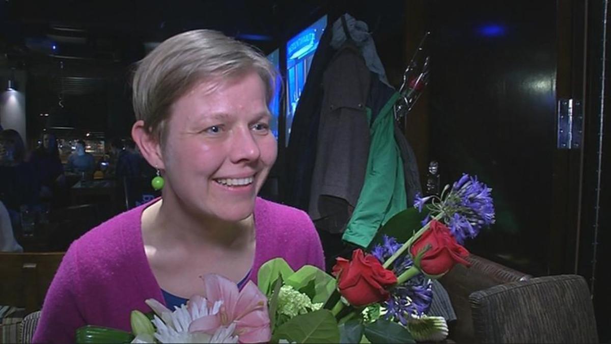 Krista Mikkonen.