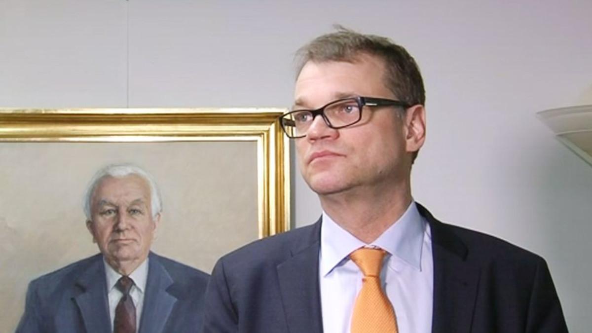 Keskustan puheenjohtaja Juha Sipilä puhui maanantaina 20. huhtikuuta hallitusohjelman aikataulusta.