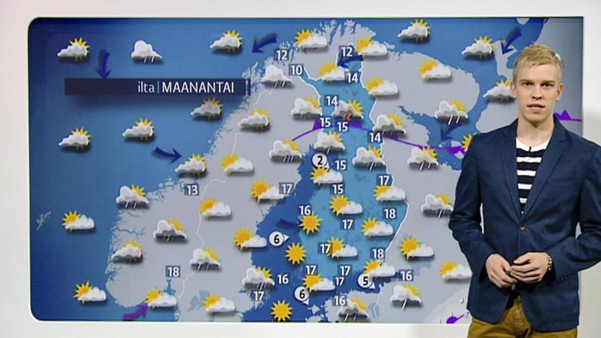 Sadekuuroja pohjoiseen – viikko alkaa vaihtelevassa säässä   Yle Uutiset   yle.fi