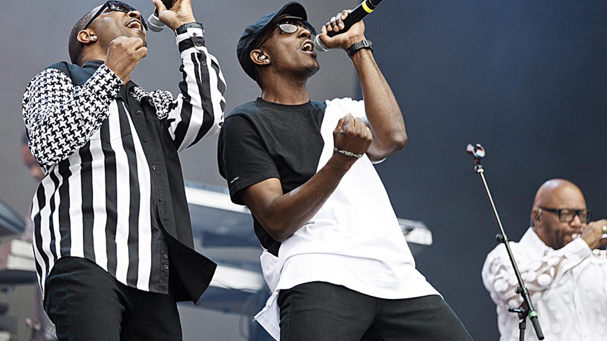 Kool & The Gang Pori Jazz -festivaaleilla 18. heinäkuuta 2015.
