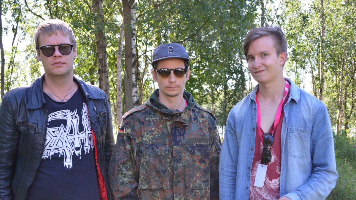 Disco Ensemble Mirko Siikaluoman haastateltavana