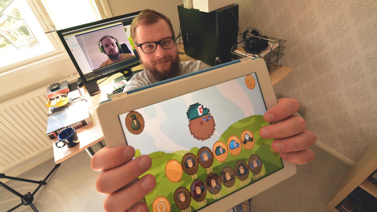 Parta Gamesin perustajat esittelee Go Go Meatball -peliä