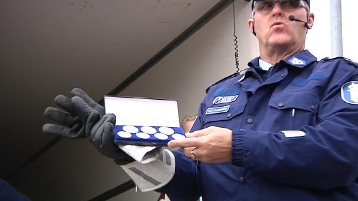 Poliisin huutokauppa.