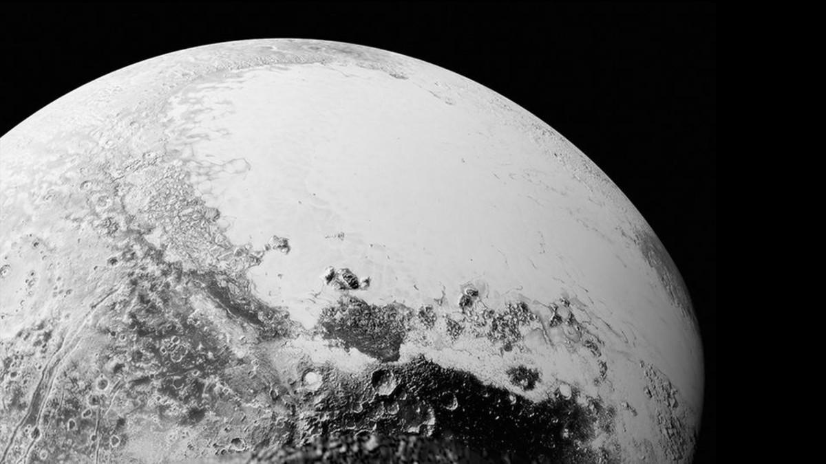 New Horizons -luotaimen ottama kuva Plutosta.