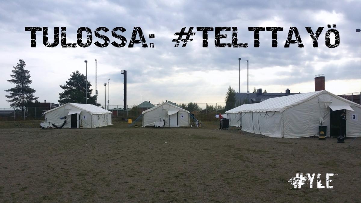 Konnunsuo turvapaikanhakijat teltat