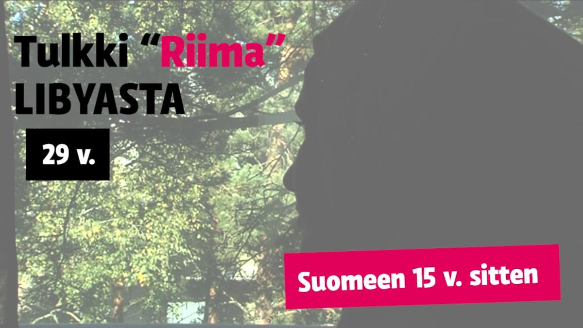 """""""Riima"""", 29, tulkki, muutti Suomeen Libyasta 15 vuotta sitten perheensä kanssa"""