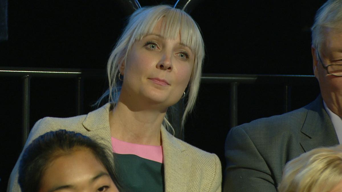 Perussuomalaisten kansanedustaja Laura Huhtasaari