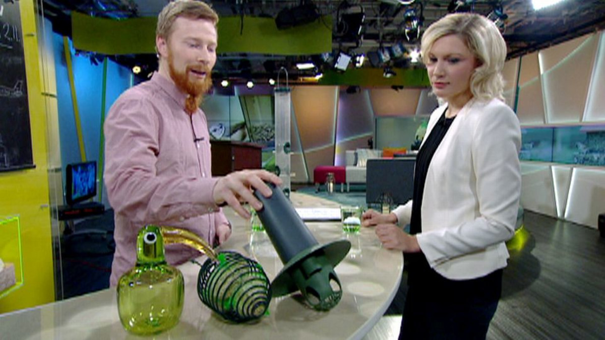 Timo Metsänen ja Sanna Savikko.