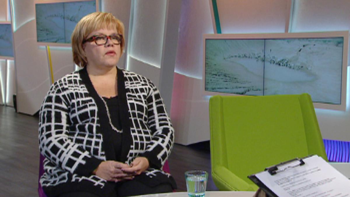Pelastakaa lapset -järjestön pääsihteeri Hanna Markkula-Kivisilta.