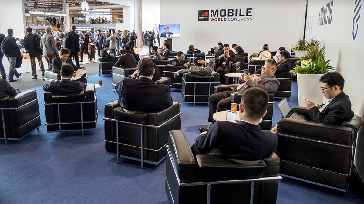 Barcelonan Mobiilimessut. Mobile World Congress 2016.