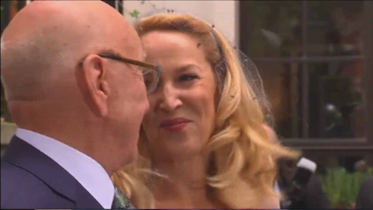 Jerry Hall ja Rupert Murdoch