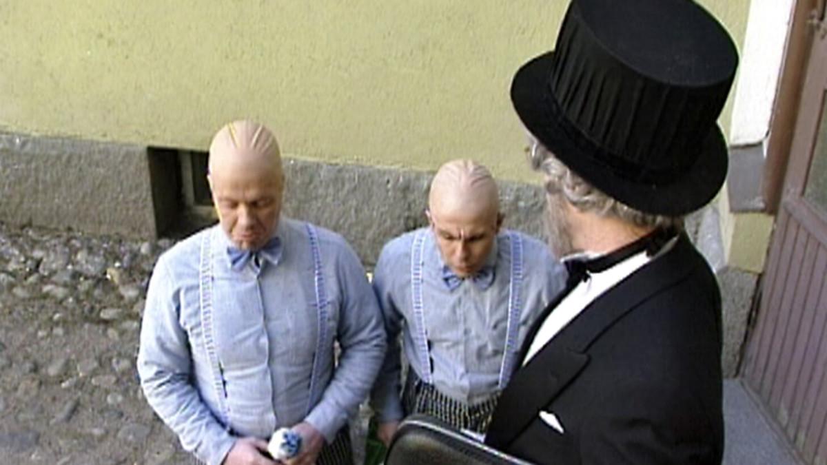 Älykääpiöt Tero Nuppi ja Esa Nhaka.