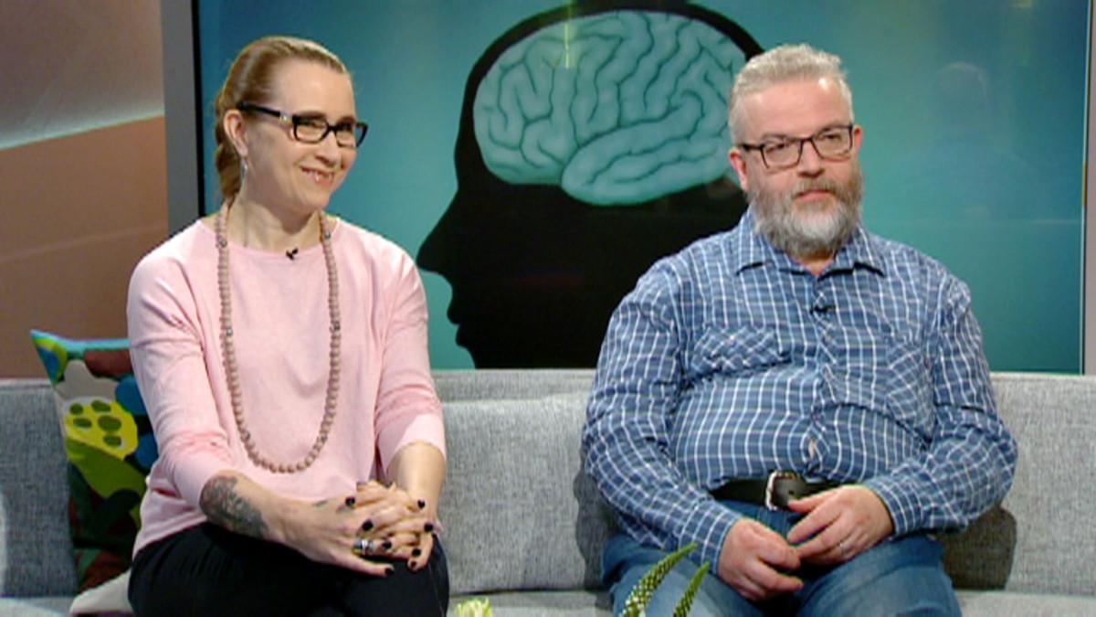 Hanna Ekman ja Juha Ojaniemi.