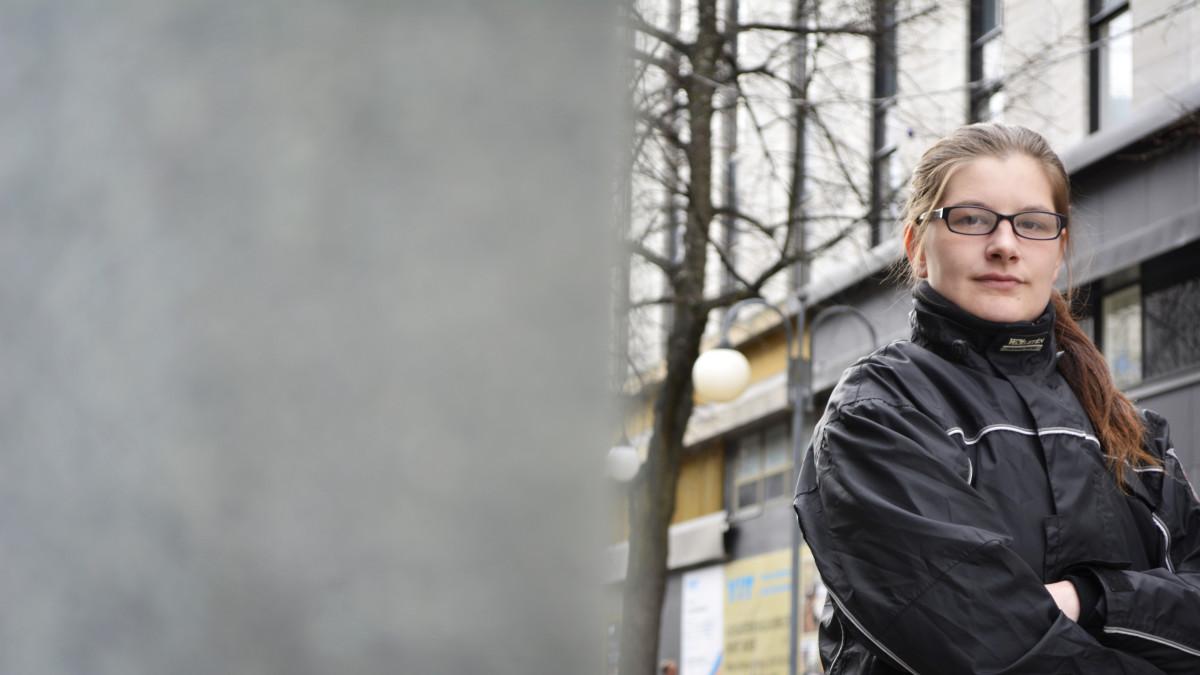 Iina Helminen-Järvelä Lahdessa.