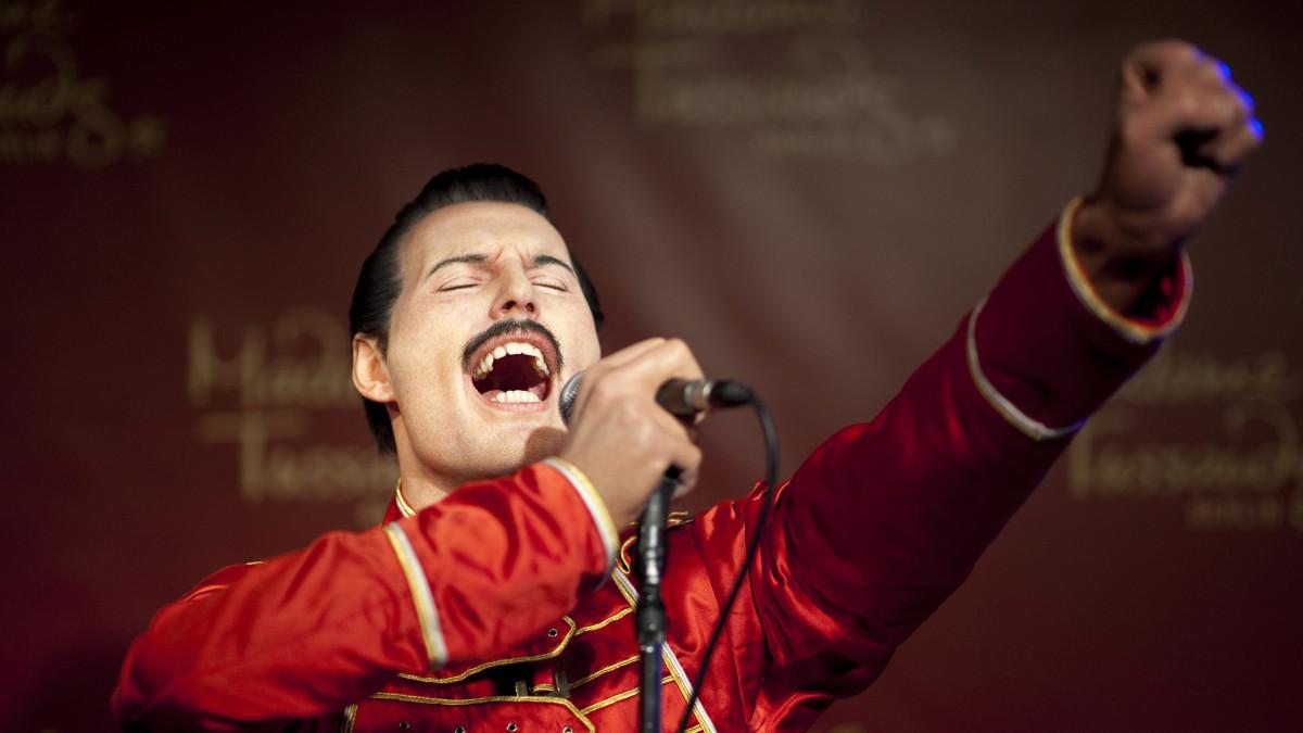 Freddie Mercury Madame Tussauds´n vahamuseossa Berliinissä