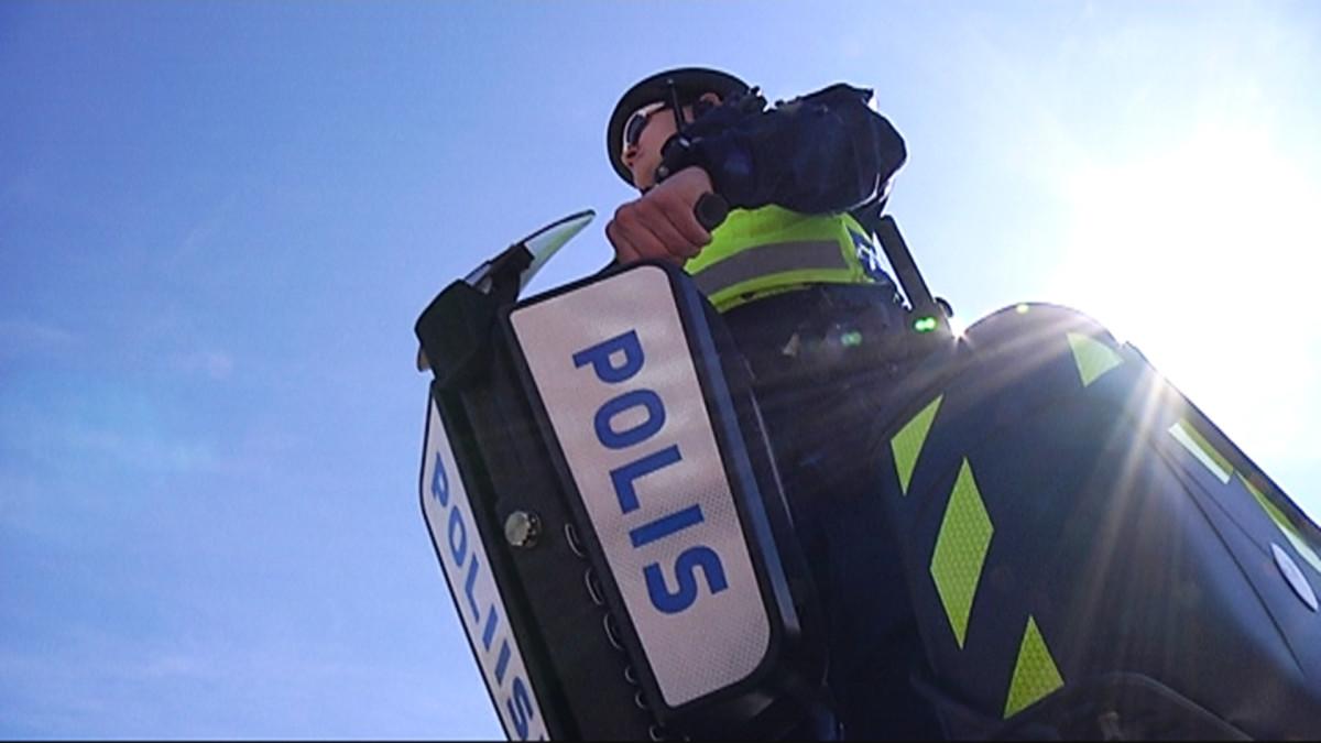 Poliisin uusi kulkupeli segway