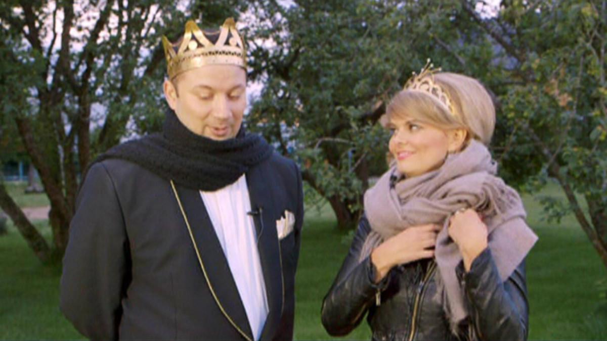 Tangokuninkaalliset Marco Lundberg ja Erika Vikman.