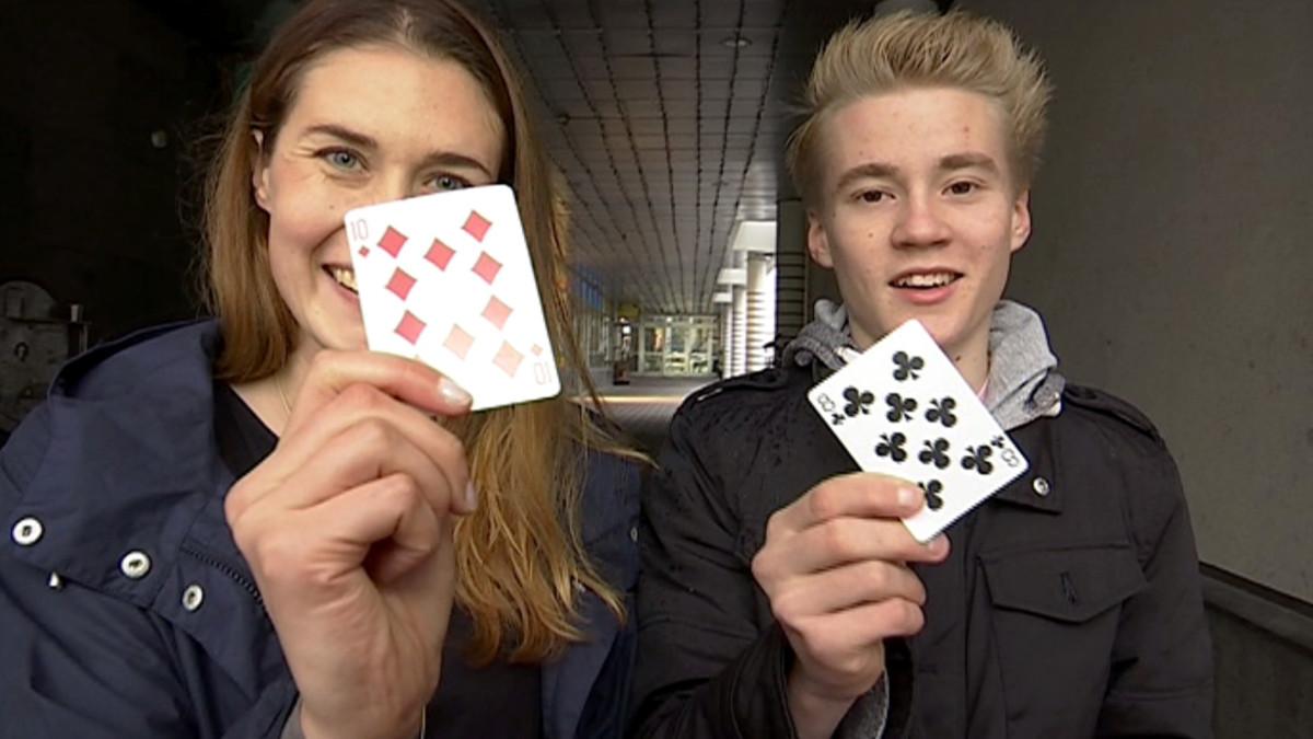 Anne Laine ja taikuri Aatu Itkonen