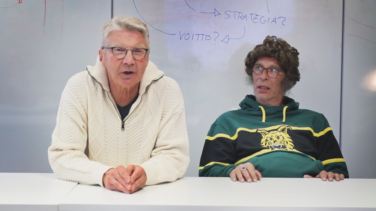 Pirkka-Pekka Petelius ja Vesa Vierikko
