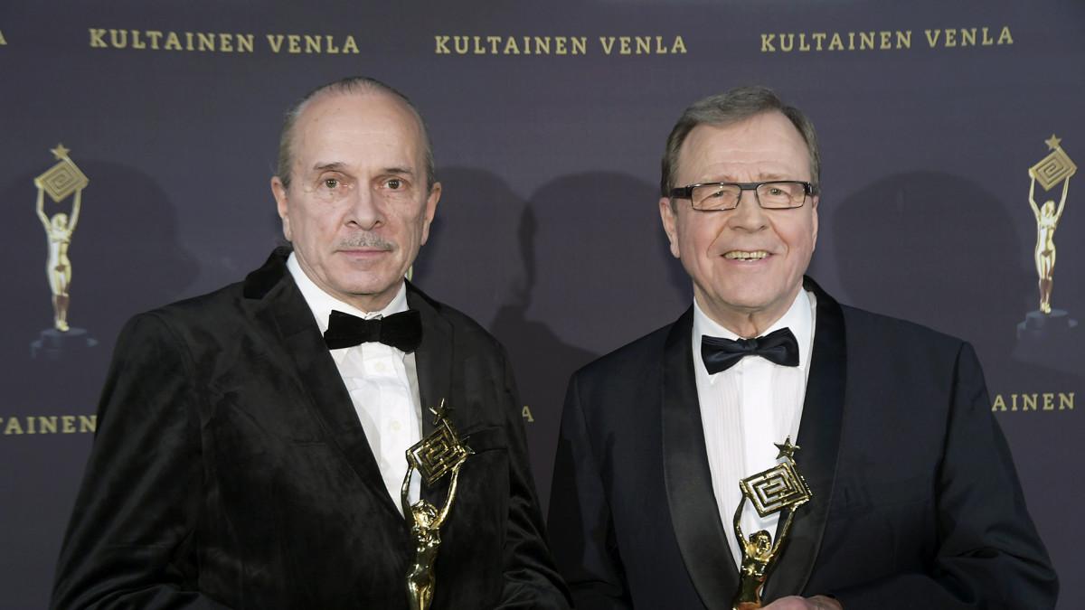 Pertti Humppila ja Arvi Lind.