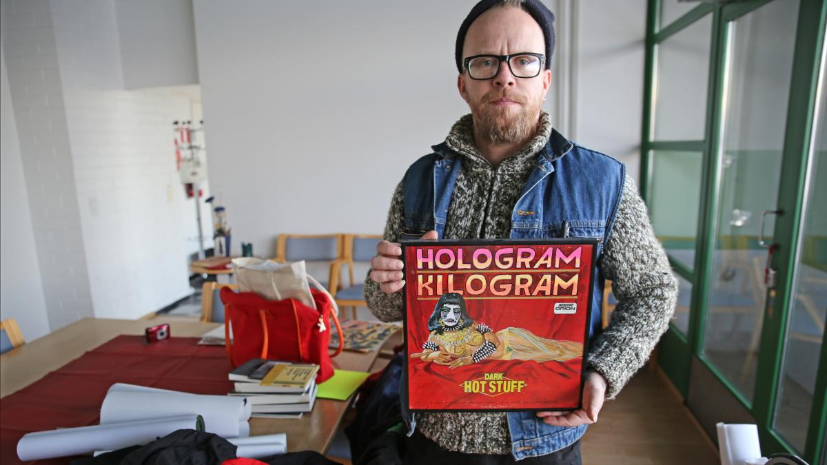 Vilunki 3000 eli Mika Viljakainen esittelee työtään.
