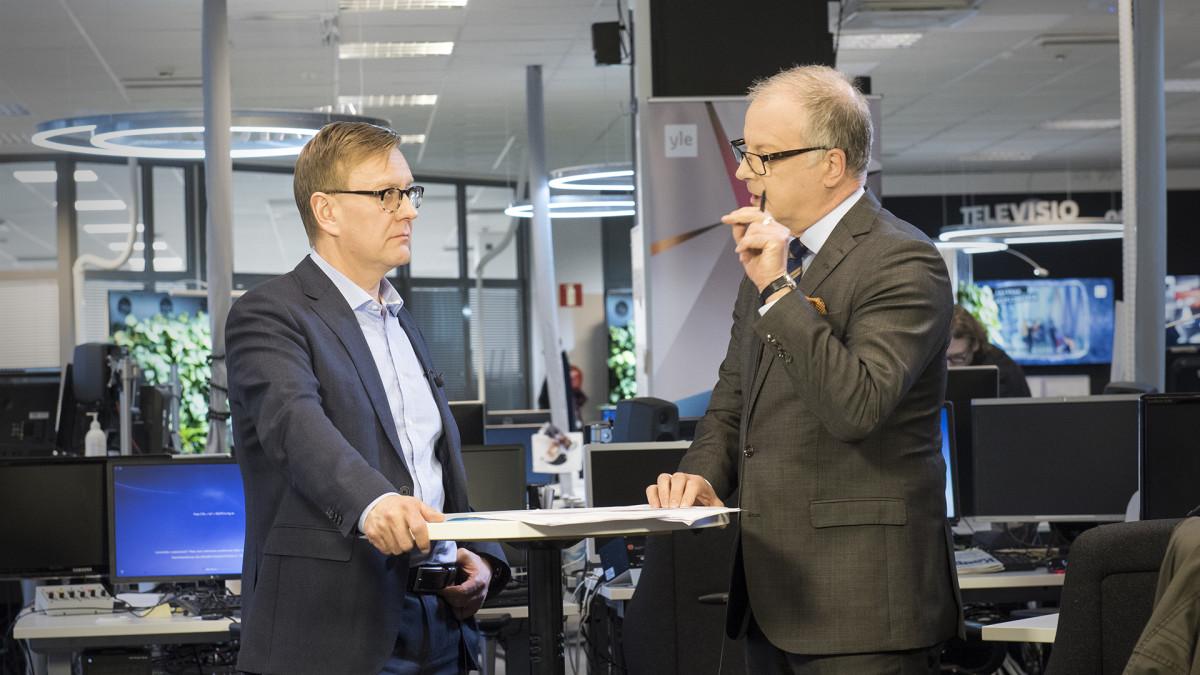 Atte Jääskeläinen ja Matti Rönkä.