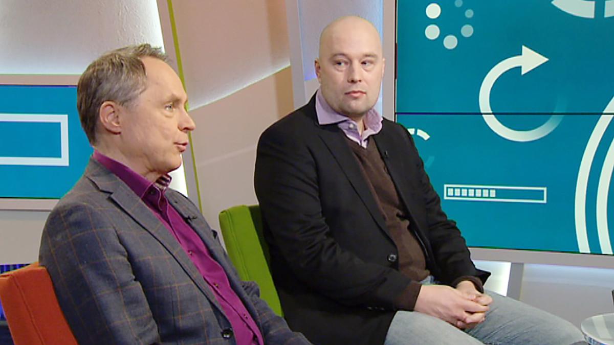 Petteri Järvinen ja Henrik Ingo