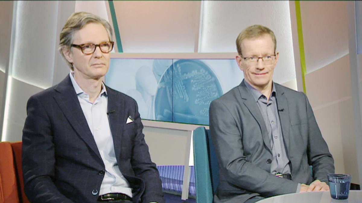 Aarno Palotie ja Kimmo Pitkänen