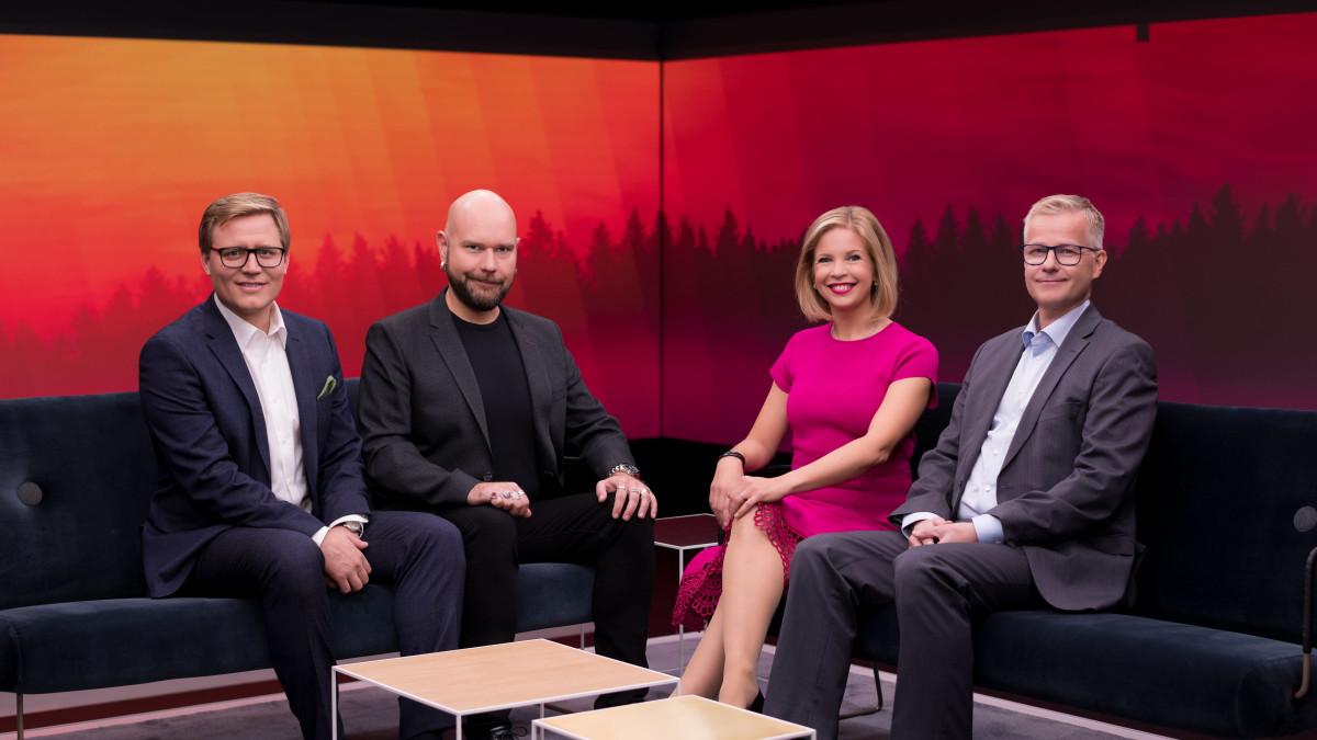 Ylen aamu - Mikko Haapanen, Totti Toivonen, Anna Lehmusvesi ja Juha Hietanen
