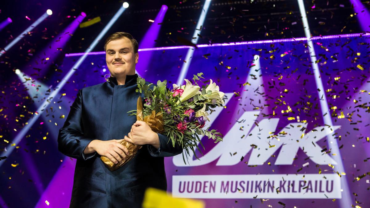 Aksel Kankaanranta on Suomen euroviisuedustaja 2020
