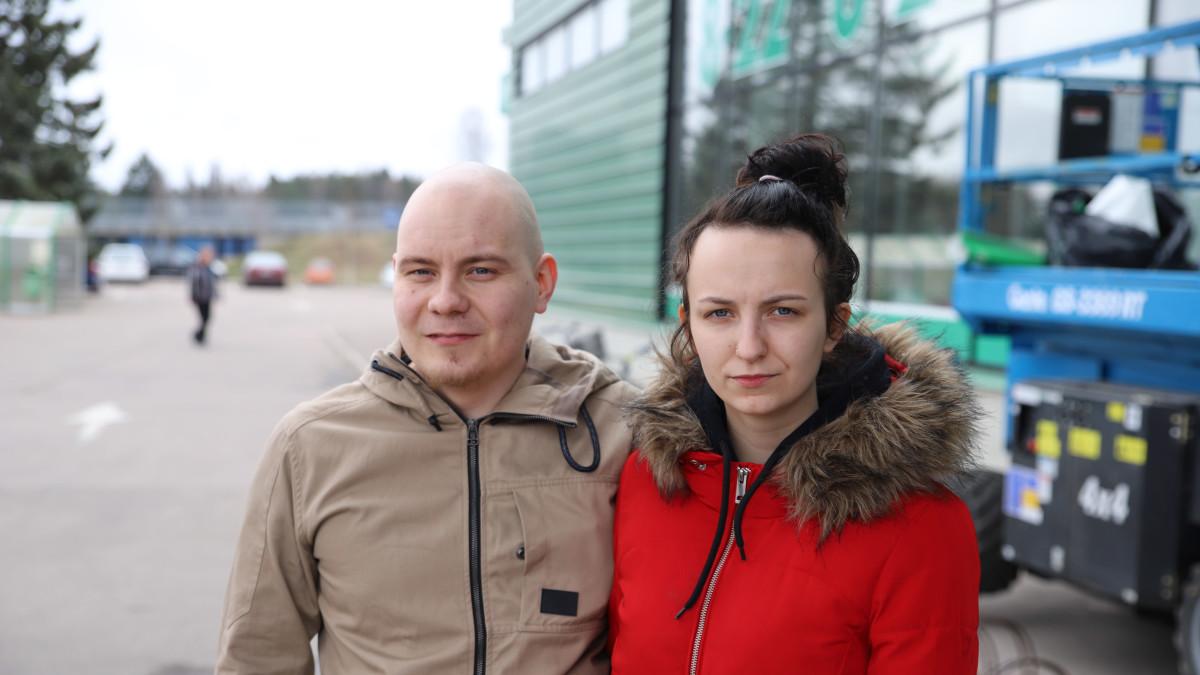 Janne Hyyryläinen, Alina Louhelainen
