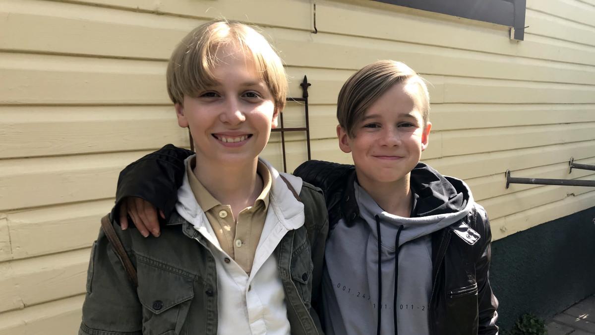 Nokkelat etsivät Henkka ja J.K. Kivimutka ovat Mikael Ehn ja Veetu Hietanen (oik.)