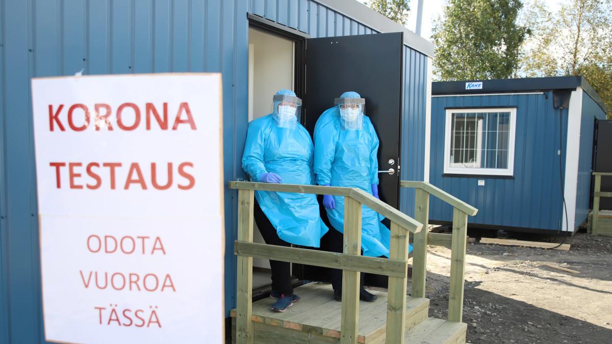 Tornio-Haaparantaan tuotiin kaksi konttia – Ruotsista Suomeen saapuvilta voidaan ottaa koronatesti heti