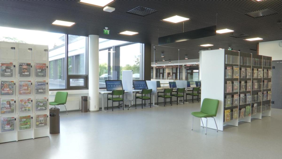 Hämeenlinnan kirjasto.