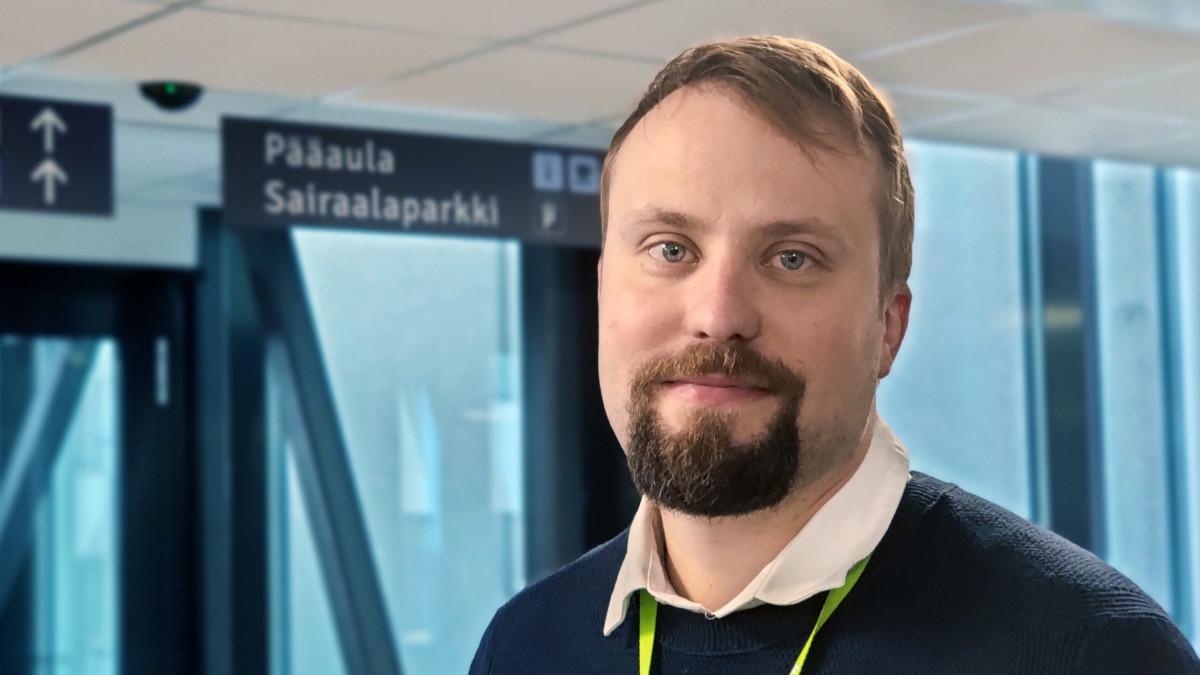Essoten terveyspalvelujen johtaja Santeri Seppälä.