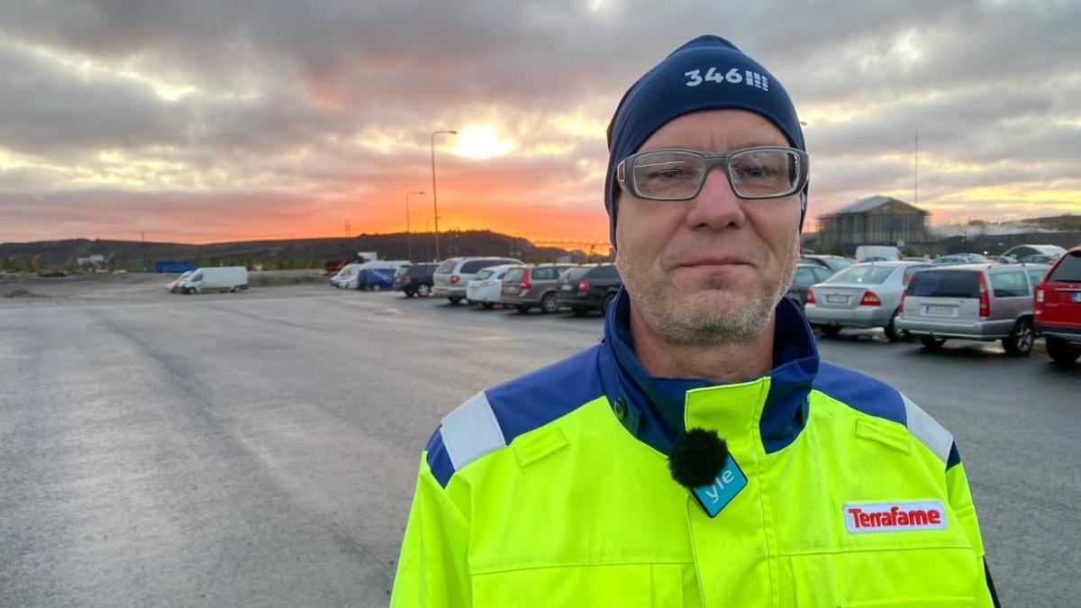 Terrafamen työntekijöiden pääluottamusmies Jukka Vetola.