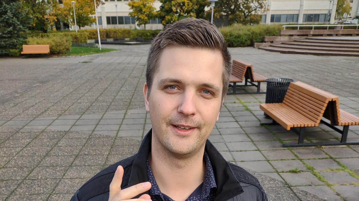 Suomen Tubettajat ry :n puheenjohtaja Ville Mäkipelto